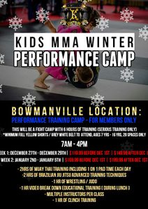 Kid's Winter Camp