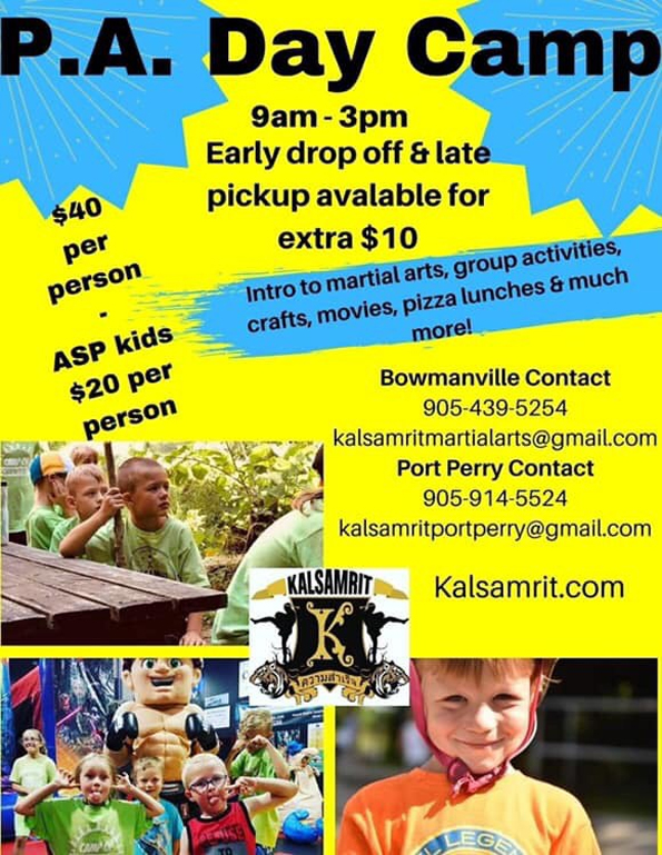 2020 P.A. Day Camp